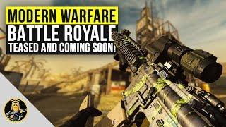 Modern Warfare Battle Royale Teased and Dropping Soon! (COD Battle Royale)