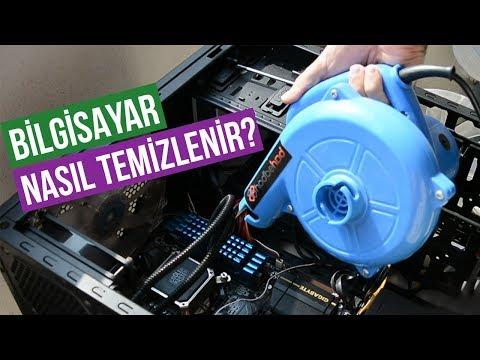 Bilgisayar nasıl temizlenir? Masaüstü Bilgisayar Temizliği Laptop bilgisayar Temizliği