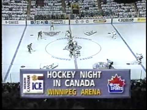 Winnipeg Jets 93 Smythe Semi playoff game #3