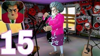 Scary Teacher 3D| New Halloween Update | Gameplay Walkthrough | PART 15 (iOS, Android)