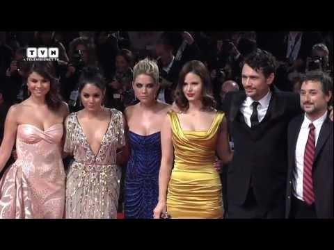 69th Venice Film Festival - Selena Gomez, James Franco and the cast of Bellocchio on the red carpet
