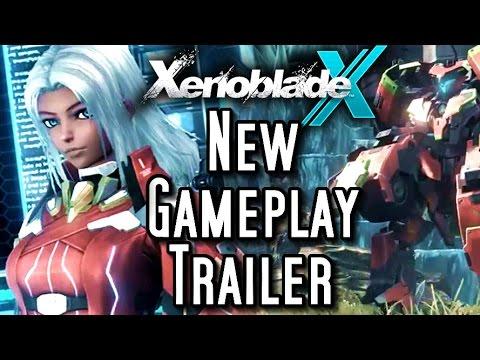 Xenoblade Chronicles X - NEW GAMEPLAY TRAILER - English Subtitles
