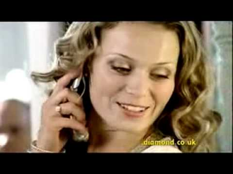Diamond Car Insurance Salon advertisement featuring Diamonds Are a Girls Best Friend