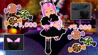 HOW TO EARN CANDY FAST IN AUTUMN TOWN!! -Royale High