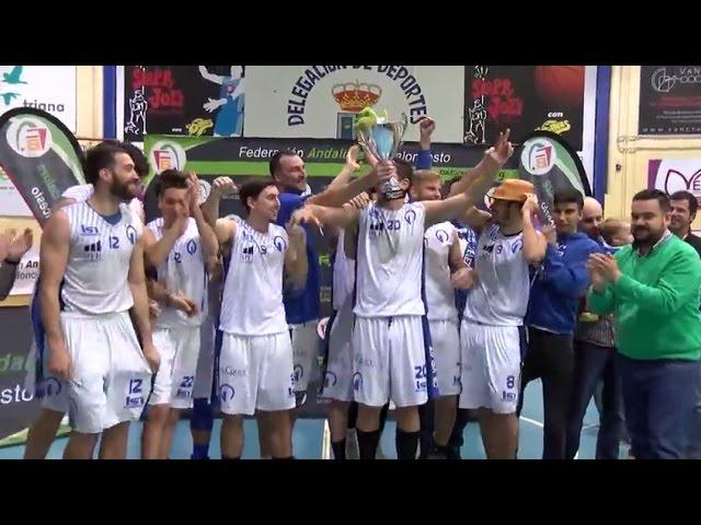 El CB Vélez se lleva la Copa FAB de baloncesto, disputada en Gines este fin de semana