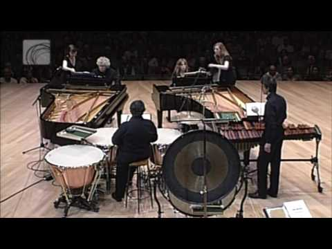 Bela Bartok - Sonata for Two Pianos and Percussion | first movement | Zoltan Kocsis - Ingrid Fliter