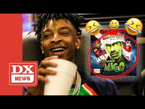 """21 Savage Reacts To Layzie Bone's """"Let Me Go Migo"""" Diss Track And Says It Was """"Wack As A MF"""""""