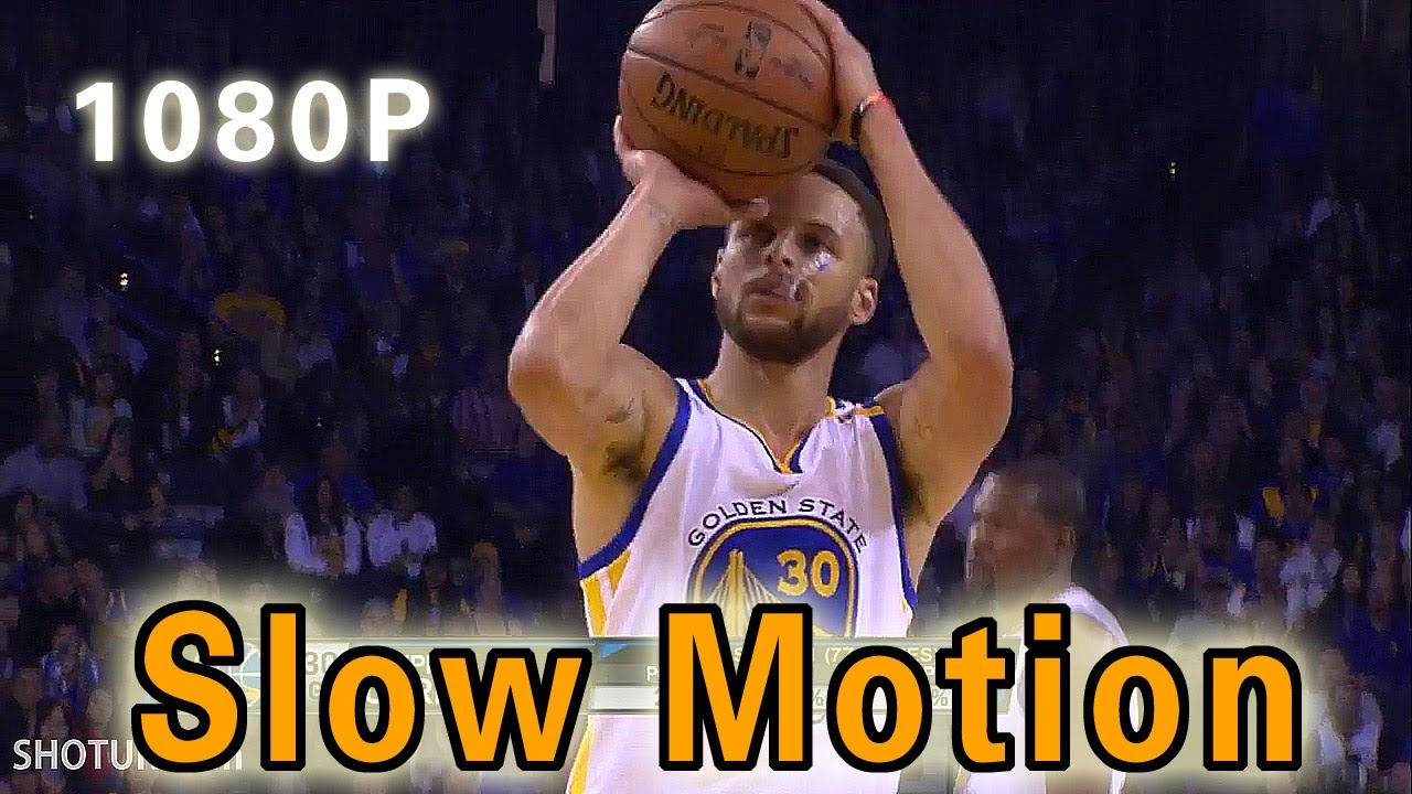 Stephen Curry Shooting Form In Slow Motion 2017 NBA Season