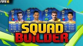 Fifa 16 squad builder - more portuguese tots! w/ tots jonas, tots bonatini, tots pizzi + tots rafa!