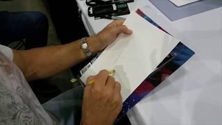 John Romita Jr Sketching Superman