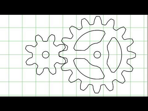 Gear generator (version 3) - YouTube