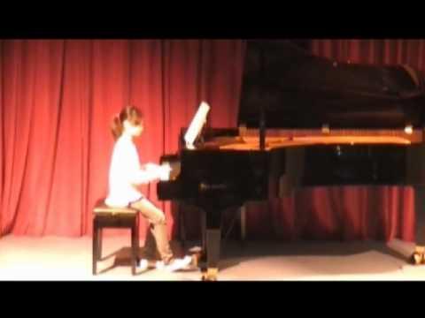 Ms Chu Student Concert Spring 2010  Rachael Ma
