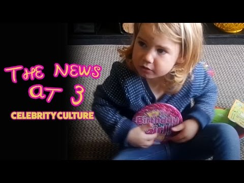 A Scottish three year old's take on celebrity culture..