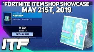 Fortnite Item Shop MARATHON MUSIC IS BACK! [May 21st, 2019] (Fortnite Battle Royale)