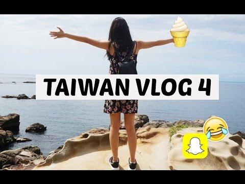Taiwan Travel Vlog | Asia Adventure | Trying Taiwanese Food, Jiunfen, Ximending | Snapchat failed