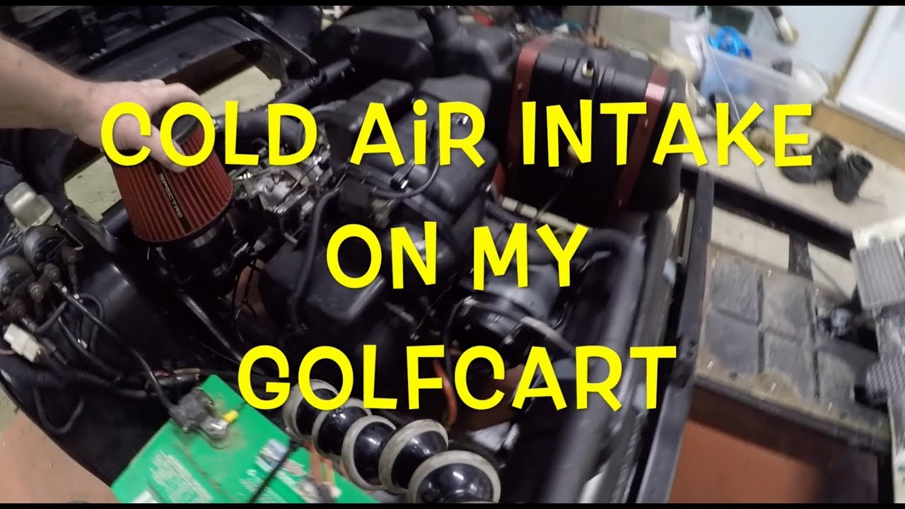 Cold Air Intake On My GolfCart - YouTube Golf Cart Air Intake on is300 air intake, 240sx air intake, karmann ghia air intake, 3000gt air intake, bmw e30 air intake, john cooper works air intake, miata air intake, jetta air intake, monte carlo air intake,
