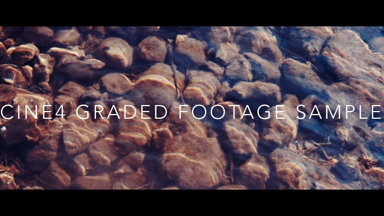 CINE 4 COLOUR GRADING TEST - FREE SAMPLE FOOTAGE AND LUTS! by Chris Watkins  Media