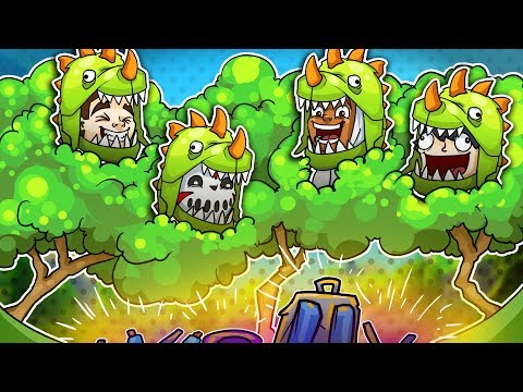 Hilarious Dinosaur Bait Trap! - Fortnite Battle Royale!