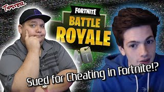 "YouTuber ""Golden Modz"" Being Sued for Cheating in Fortnite!?"