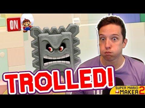 My FAVORITE Mario Maker 2 TROLL Level So Far!!