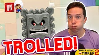 Download My FAVORITE Mario Maker 2 TROLL Level So Far!! Mp3 and Videos