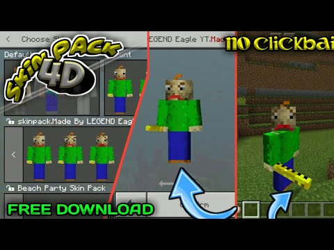download minecraft pe skin pack