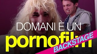Dear Jack - Domani è un porno film - BACKSTAGE
