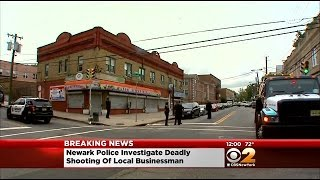 Local Businessman Fatally Shot In Newark