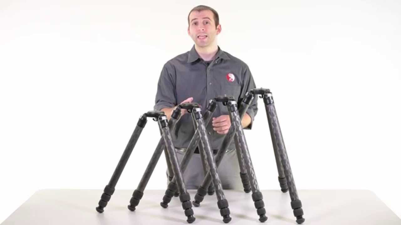 really right stuff series 3 tripod lineup youtube