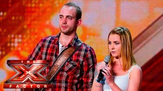 Can Rock & Rose crack a smile? | Auditions Week 3 | The X Factor UK 2015