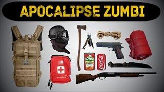 TOP 10 COISAS PARA O APOCALIPSE ZUMBI