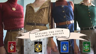 A Hogwarts lookbook: Styling the Four Houses with Knitwear!