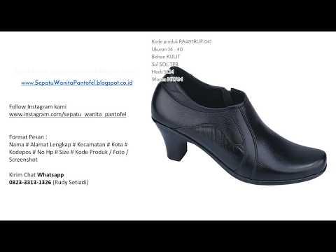 Sepatu Pantofel Boot Wanita WA 0823 3313 1326 (Chat Only)