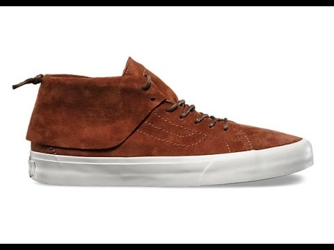 a3b86a1d52 Shoe Review  Vans California  Pig Suede  SK8-Mid Moc (Tortoise Shell Blanc)  - YouTube