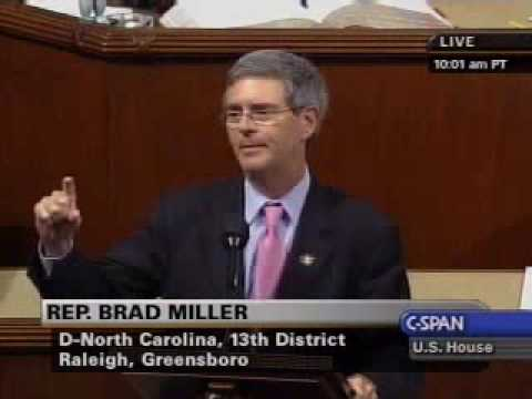 Rep. Brad Miller on Small Business Innovation