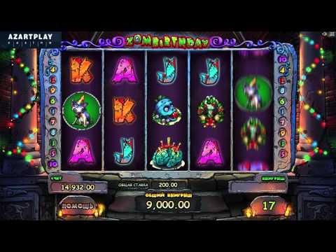 Выигрыш в казино AzartPlay 37.000$ в игре Zombirth