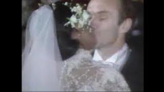 Diana Ross Marries her new husband Arne Naess Jr in Switzerland 1986