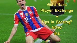SICK GOLD RARE PLAYER EXCHANGE!! + Tips For Earning* NOW #2 FIFA 16 IOS/ANDROID ULTIMATE TEAM MOBILE