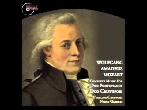 Mozart: Sonata for Two Pianos in D major, K. 448 - (II) Andante