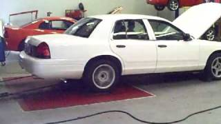 Crown Vic Dyno @ injected engineering 1-5