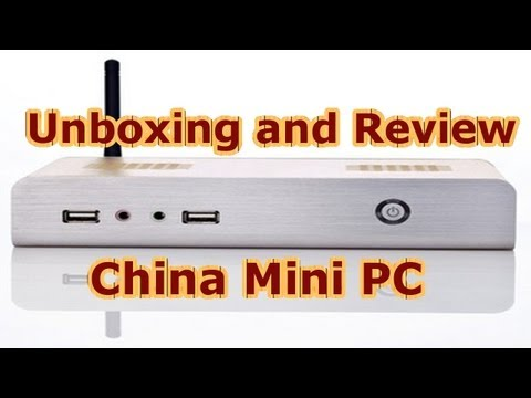 Powerful and Cheap China Mini PC - Full Metal Case - Homeserver - low power - Unboxing + Review [HD]