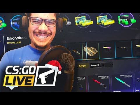 UNBOXED A CSGO BUTTERFLY KNIFE FADE OFF A $60 CASE.. ( INSANE )