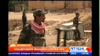 Especial NTN24: Grupos étnicos al norte de Irak se alzan en armas para combatir ataques de ISIS