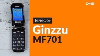распаковка сотового телефона Ginzzu MF701 / Unboxing Ginzzu MF701