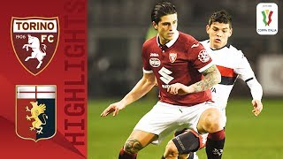 Torino 1 1 Genoa 5 3 Pens Penalty Shoot Out and Red Card Drama Round 5 Coppa Italia
