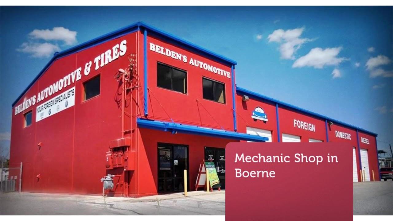 Belden's Automotive & Mechanic Shop in Boerne