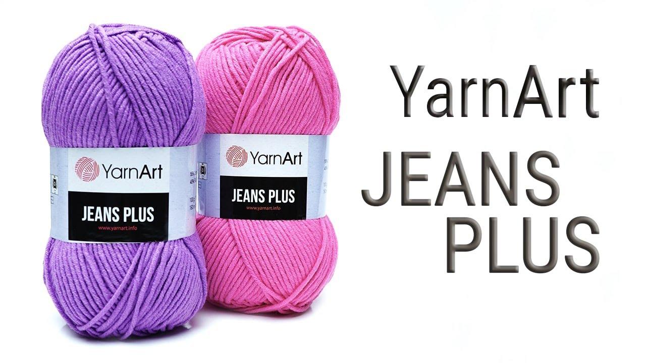 Джинс плюс Ярнарт / Jeans Plus YarnArt