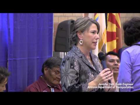 Navajo Route 20 (U.S. 89T) Groundbreaking Ceremony