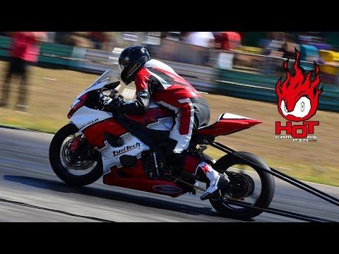 Moto aspirada mais rápida na pista de Brasília 402m