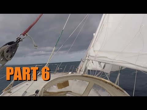 Lightning Part 6 | Hurricane on the way, sailing to safety in a leaking boat